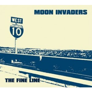Moon Invaders 'The Fine Line' CD