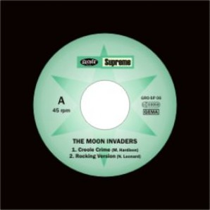 "Moon Invaders 'Creole Crime'  7"" EP"