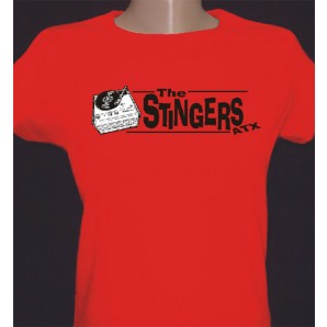 Girlie Shirt 'Stingers ATX - Record Player red' - all sizes