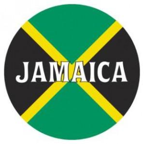 fridge magnet 'Jamaica - Flag' 43 mm