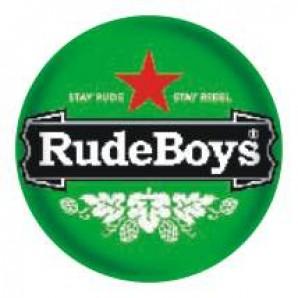 fridge magnet 'Rude Boys - Stay Rude' 43 mm
