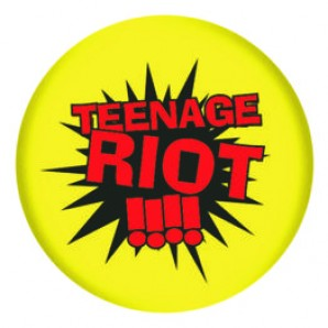 fridge magnet 'Teenage Riot' 43 mm