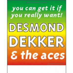 Poster - Desmond Dekker / Tour 1996