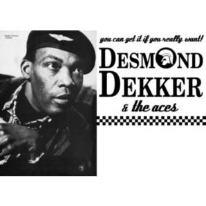 Poster - Desmond Dekker / Tour 2001