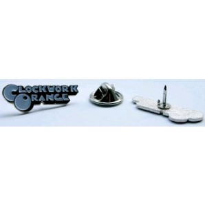 Pin 'A Clockwork Orange' white logo