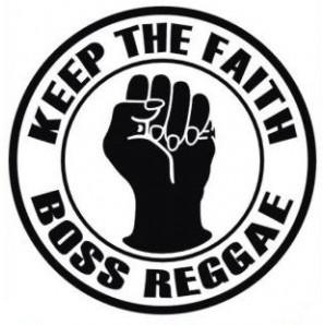 pin 'Boss Reggae - Keep The Faith'
