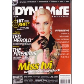 Dynamite! Magazine # 79 - The World Of Rock'n'Roll - 132 S. + CD *Ted Herold