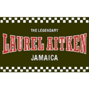 PVC sticker 'Laurel Aitken - angular'