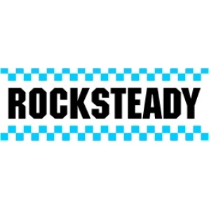 PVC sticker 'Rocksteady - angular'