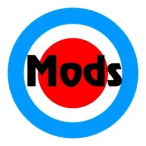 PVC sticker 'Mod Style'