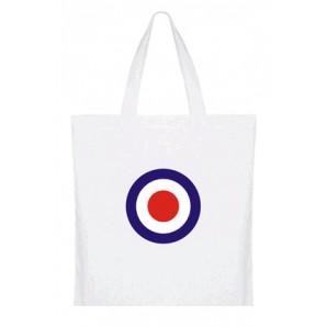 cotton bag 'Target' - white
