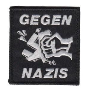 patch 'Gegen Nazis'