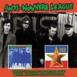 Anti-Nowhere League 'We Are The League + Live In Yugoslavia'  2-CD