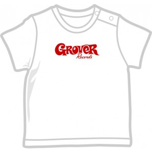 free for orders over  80 €: Baby Shirt 'Grover' white, four sizes