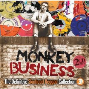 V.A. 'Monkey Business: Definitive Skinhead Reggae Collection'  2-CD