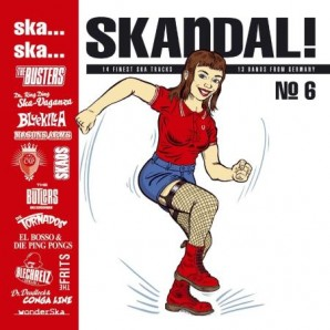 V.A. 'Ska... Ska... Skandal! No. 6'  CD