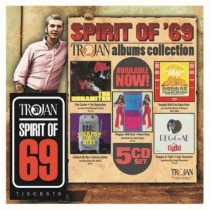 V.A. 'Spirit Of 69: The Trojan Albums Collection'  5-CD Box