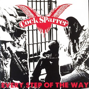 "Cock Sparrer 'Every Step Of The Way' + 'We're The Good Guys' 7"" blood red vinyl"