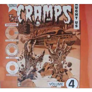 V.A. 'Songs The Cramps Taught Us Vol. 4'  LP