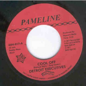 """Detroit Executives 'Cool Off' + Mighty Lovers 'Mighty Lover'  7"""""""