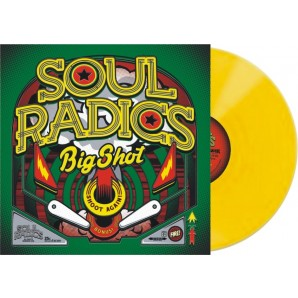 Soul Radics 'Big Shot'  LP + CD ltd. yellow vinyl