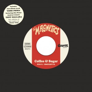 "Magnetics 'Coffee & Sugar' + 'Come Prima (feat. Tony Dallara)'  7"" ltd. black vinyl"