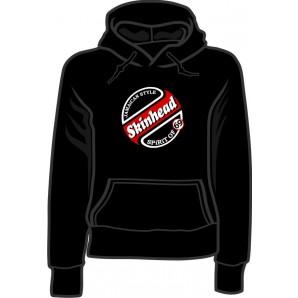 girlie hooded jumper 'Skinhead 69' all sizes