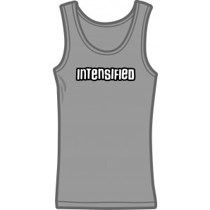 Girlie tanktop 'Intensified' - sizes small, medium, large