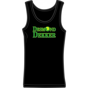 Girlie tanktop 'Desmond Dekker' - sizes small, medium
