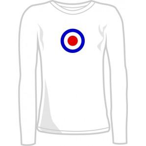 Girlie Shirt 'Mod Style - Longsleeve' sizes small, medium