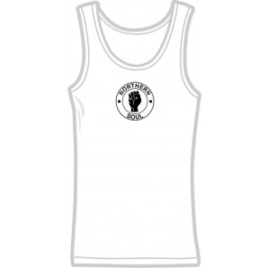 Girlie tanktop 'Northern Soul' all sizes
