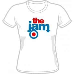 T-Shirt 'The Jam' white, all sizes