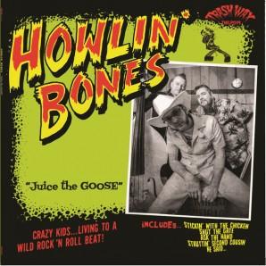 Howlin' Bones 'Juice The Goose' LP ltd. green vinyl