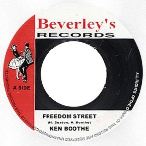 Boothe, Ken 'Freedom Street' + 'Love And Unity' 7""