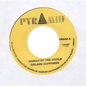 Alphonso, Roland 'Woman Of The World' + The Cat'  7""