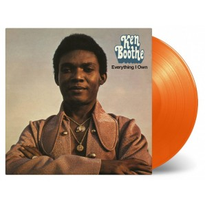 Boothe, Ken 'Everything I Own' LP orange vinyl
