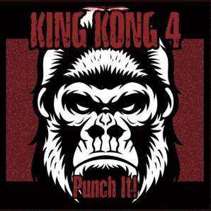 King Kong 4 'Punch It!' LP blue vinyl