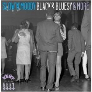 V.A. 'Slow'n'Moody Black'n'Bluesy & More'  CD