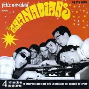 Los Granadians 'Feliz Navidad'  CD