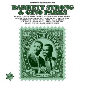 Strong, Barrett + Gino Parks 'Rarer Stamps Vol. 1'  LP