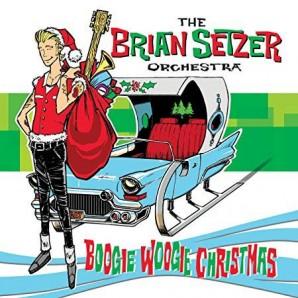 Brian Setzer Orchestra 'Boogie Woogie Christmas'  LP  ltd. col. vinyl