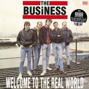 The Business 'Welcome To The Real World'  LP ltd. clear vinyl
