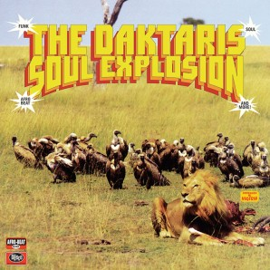 Daktaris 'Soul Explosion'  LP+mp3 ltd. coloured Vinyl