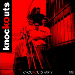 "Knockouts 'Knockouts Party' 12"" EP ltd. red vinyl"