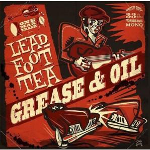 Leadfoot Tea 'Grease & Oil'  LP ltd. red vinyl