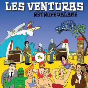 Les Venturas 'Rétropédalage'  LP