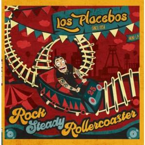 Los Placebos 'Rocksteady Rollercoaster'  LP+MP3  ltd. black vinyl