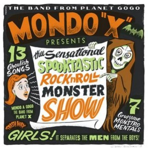 "Mondo ""X"" 'Thee Sensational, Spooktacular'  LP ltd. green vinyl"