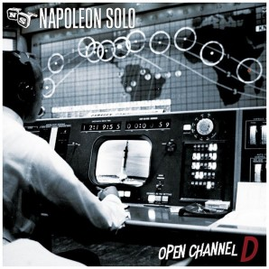 Napoleon Solo 'Open Channel'  LP ltd. red marbled vinyl