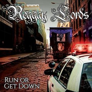 Reggay Lords 'Run Or Get Down'  LP ltd. blue marbled vinyl *Slackers*Forthrights*